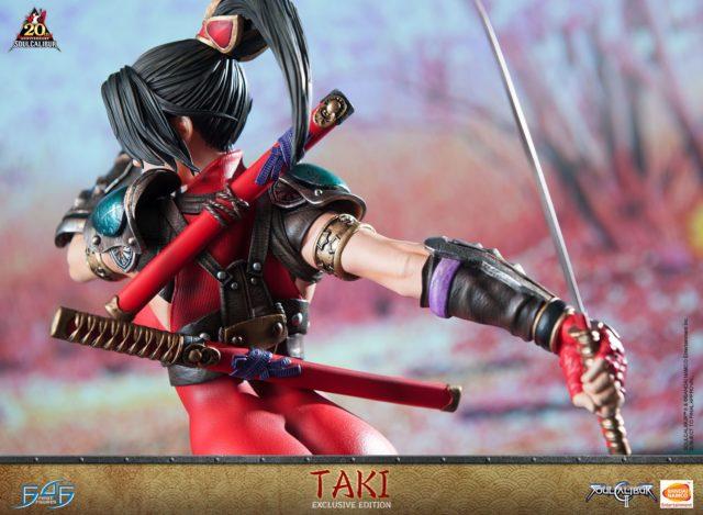 Rear View of Taki Figure Soul Calibur II F4F