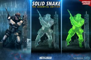 F4F Solid Snake Essential Collection Triple Pack