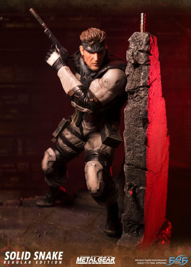 Solid Snake Statue First 4 Figures Metal Gear Solid