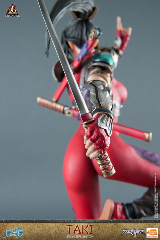 Soul Calibur II Taki Statue Sword F4F