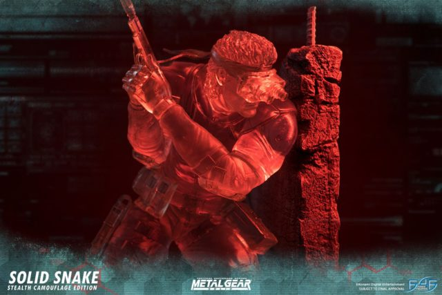 Stealth Camouflage Snake First 4 Figures Statue