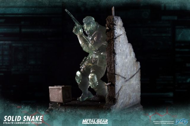 Stealth Camouflague Edition Snake Statue F4F