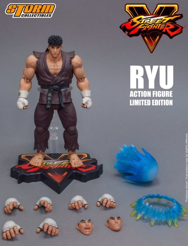 Storm Collectibles Brown Ryu NYCC 2017 Exclusive Figure