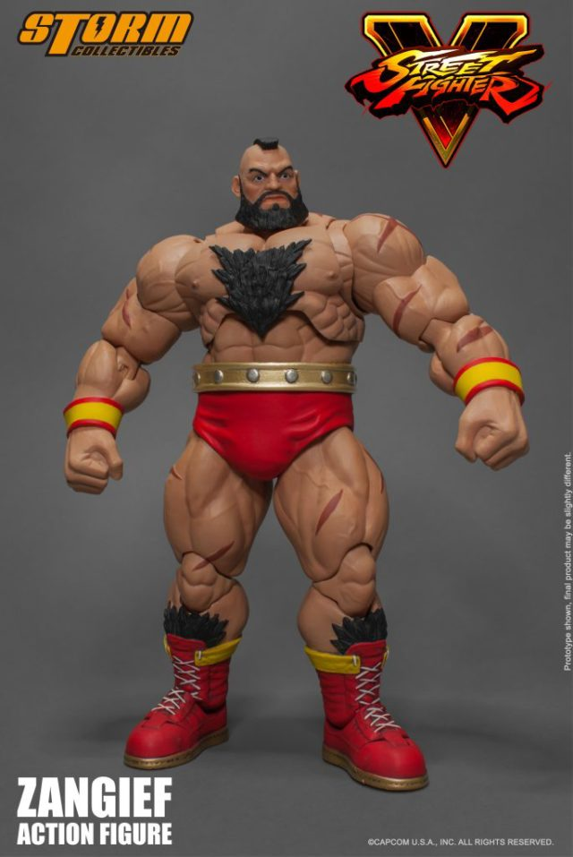Storm Collectibles Zangief NYCC 2017 Early Release