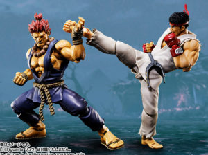 Street Fighter Figuarts Akuma vs Ryu