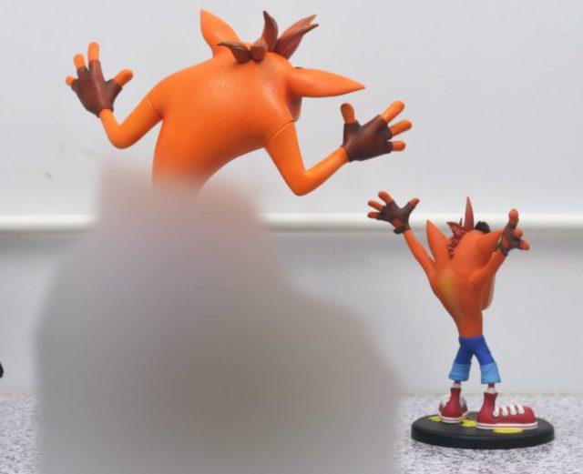 F4F Crash Bandicoot Size Comparison Photo