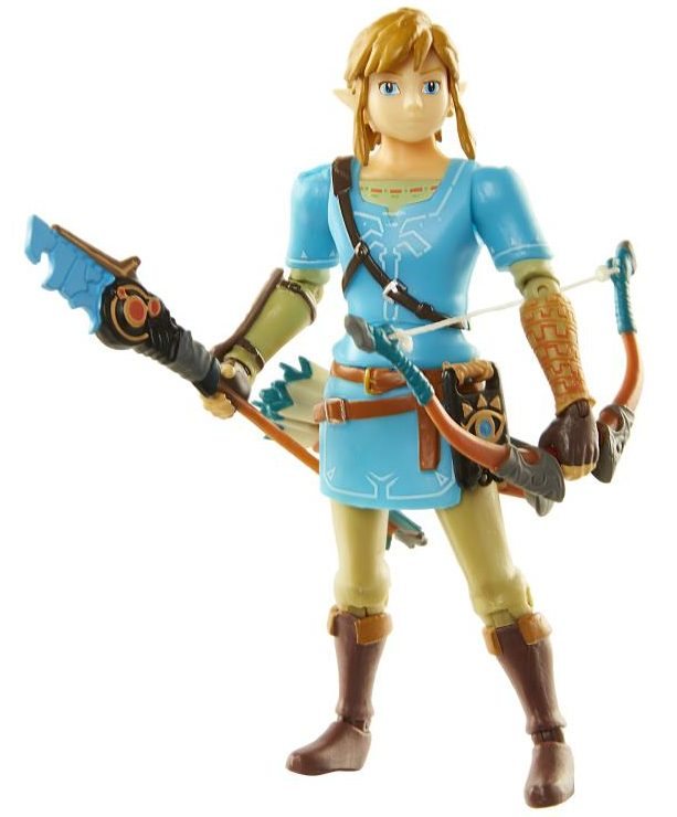 Jakks World of Nintendo Breath of the Wild Link Figure