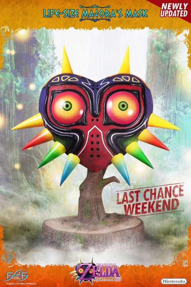 Majora's Mask F4F Statue Replica Last Chance Weekend Pre-Order