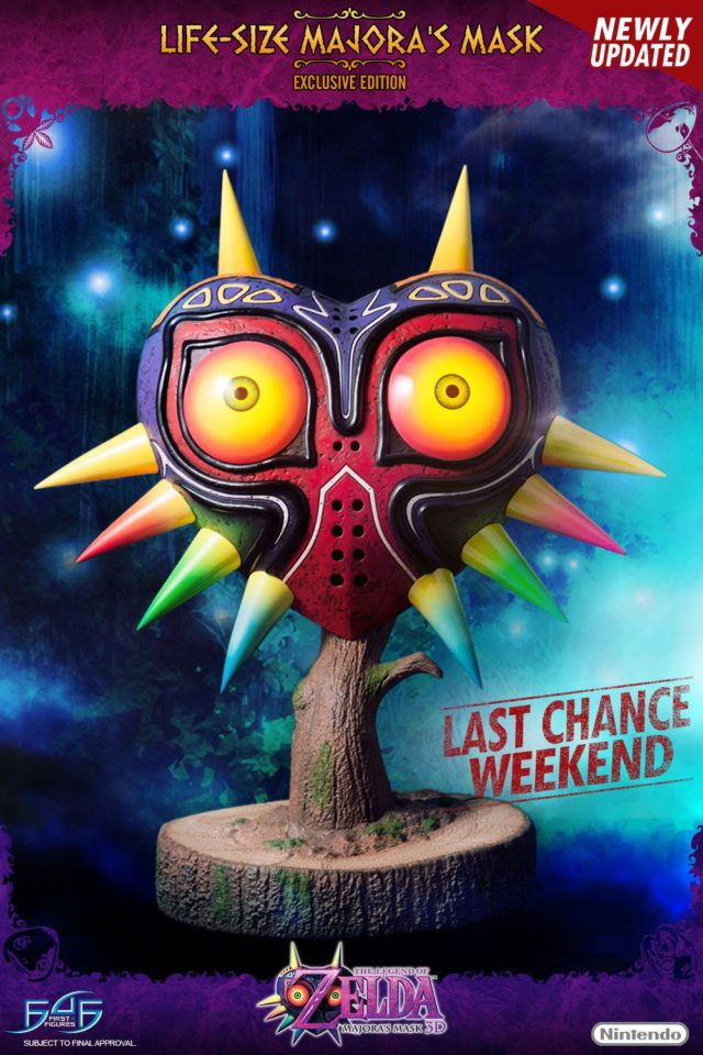 Majora's Mask Last Chance Weekend Poster Image