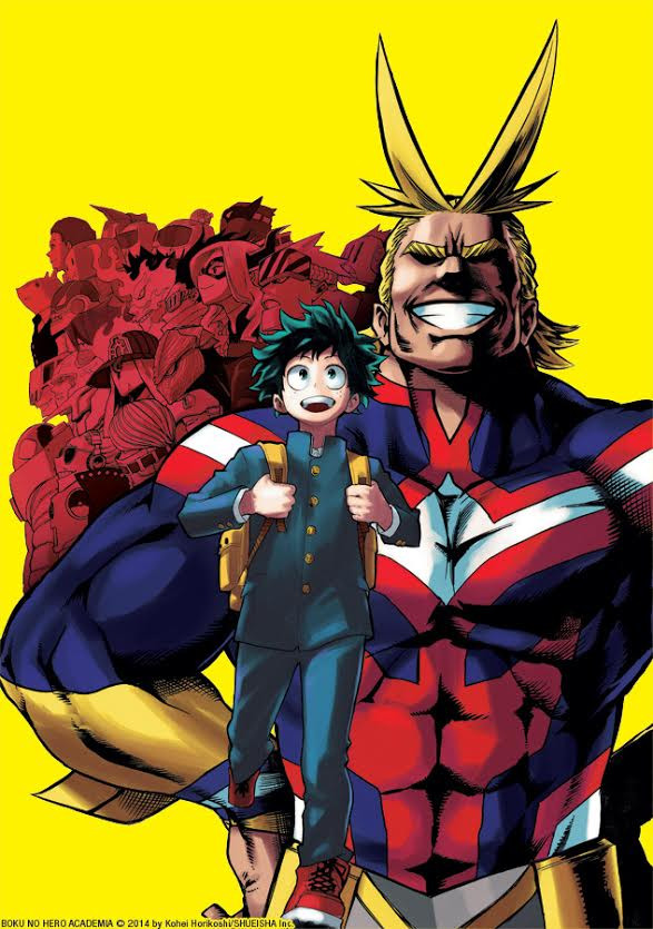 My Hero Academia Manga Cover F4F Poll