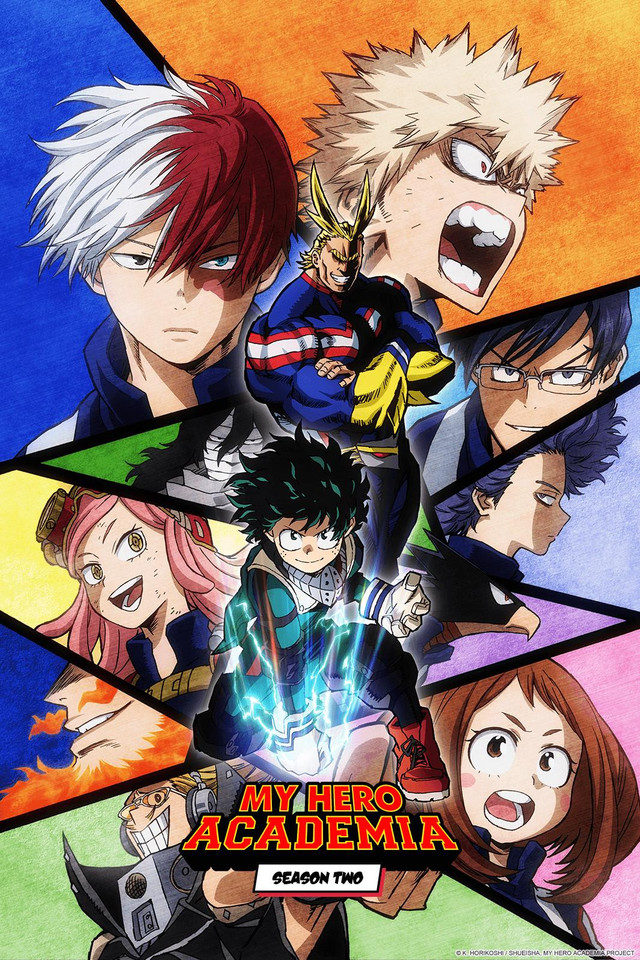 My Hero Academia Season 2 Key Art