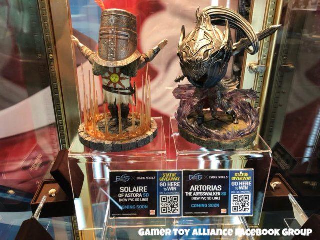 SD Dark Souls PVC Figures Solaire and Artorias