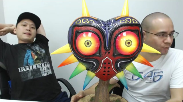 Updated First 4 Figures Majora's Mask Replica Statue