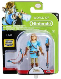 World of Nintendo BOTW Link 4 Inch Figure Packaged