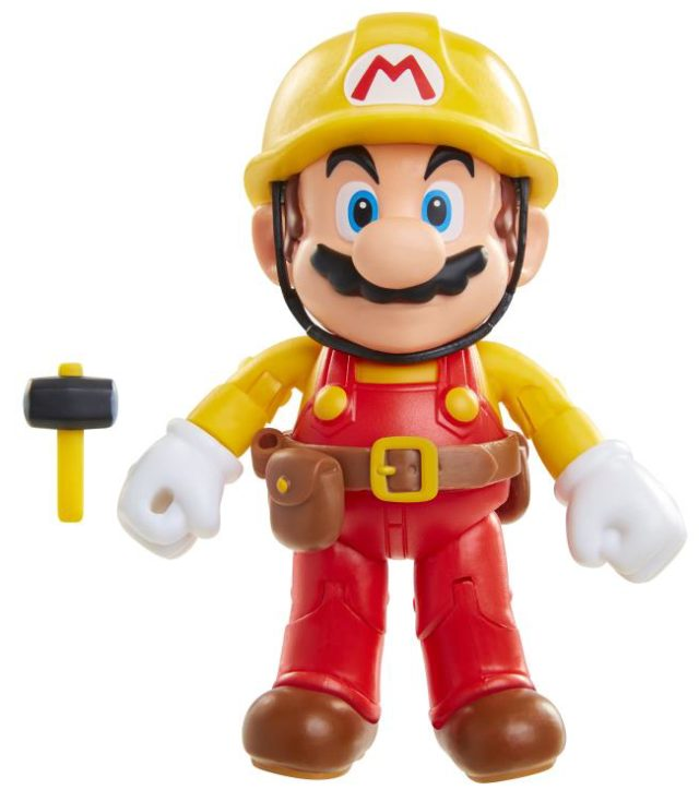 World of Nintendo Mario Maker 4 Inch Figure
