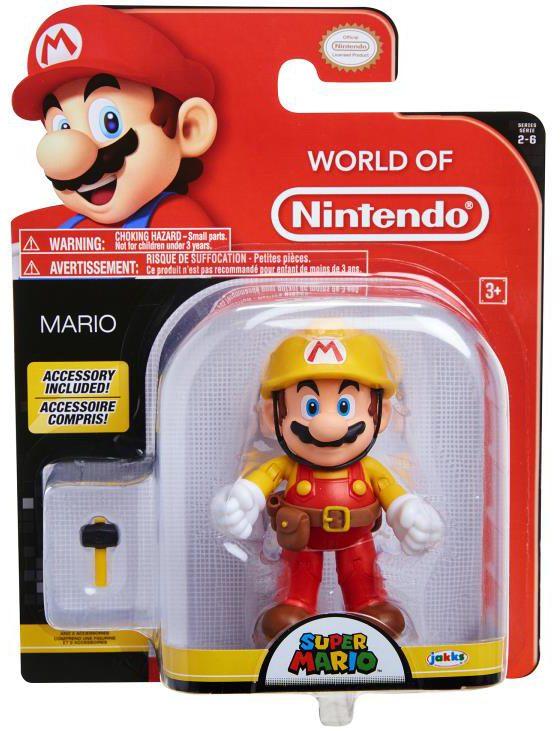 World of Nintendo Mario Maker Figure Packaged
