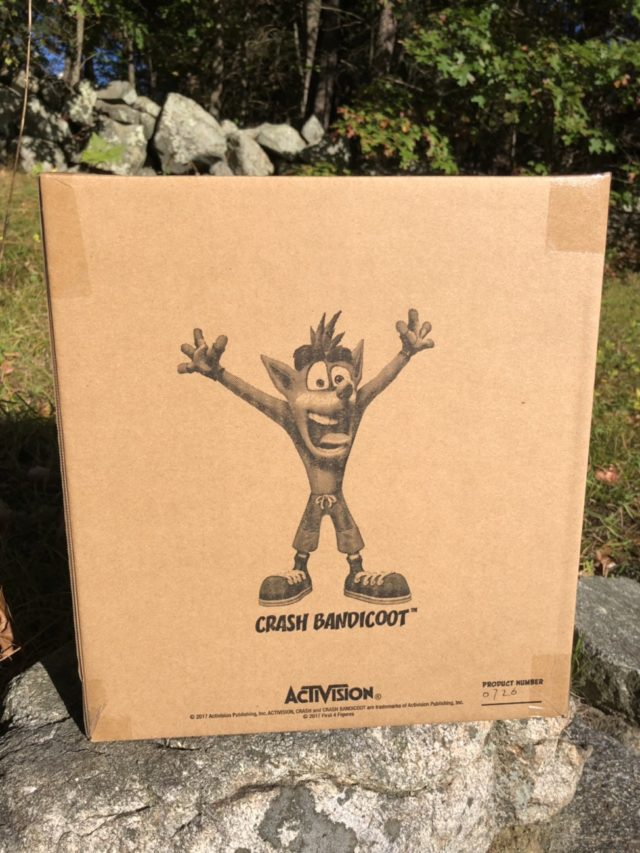 Interior Shipping Box for Crash Bandicoot PVC EX Statue