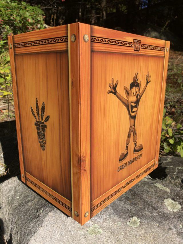 Crash Bandicoot EX Statue Crate Box F4F