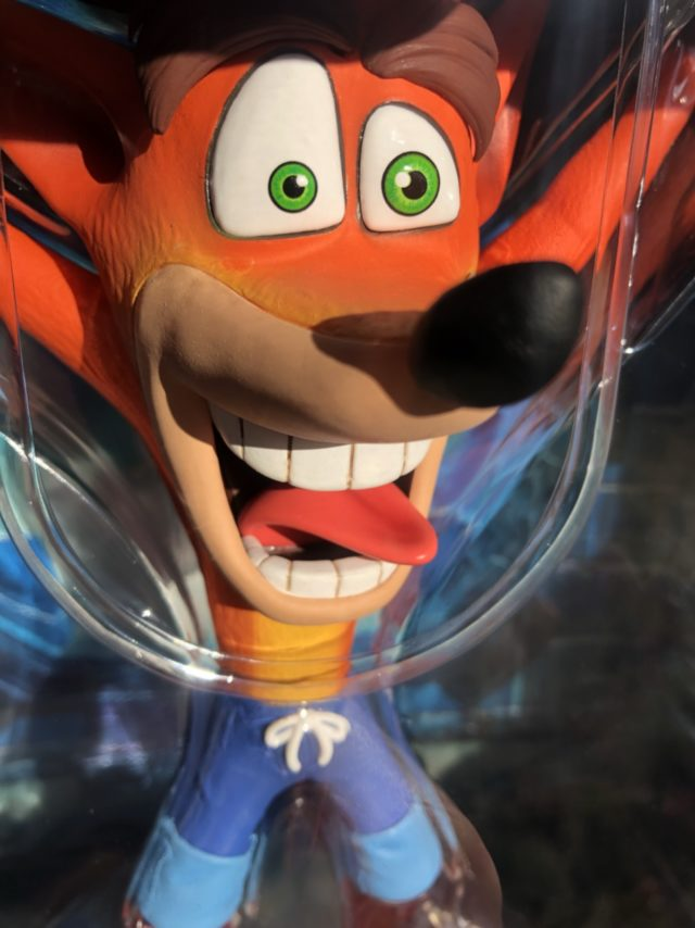 PVC Statue Crash Bandicoot First 4 Figures in Package