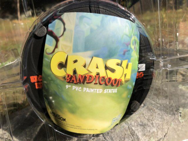 Crash Bandicoot Brochure Insert First4Figures