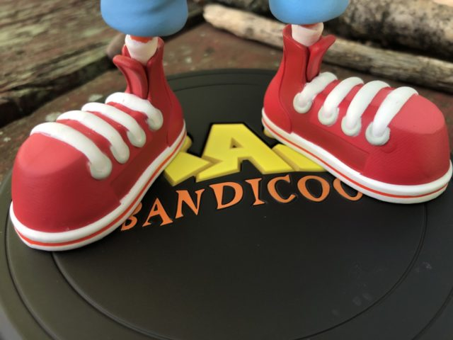 First 4 Figures Crash Bandicoot Base and ShoesFirst 4 Figures Crash Bandicoot Base and Shoes