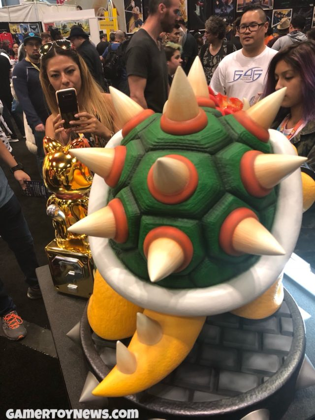 Shell on First4Figures Bowser Statue Back