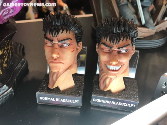 Berserk Guts Statue Alternate Heads NYCC 2017