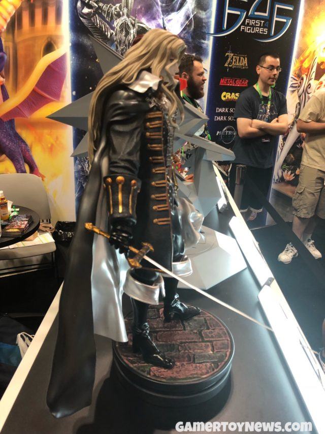 Side View of Castlevania Alucard Figure NYCC 2017