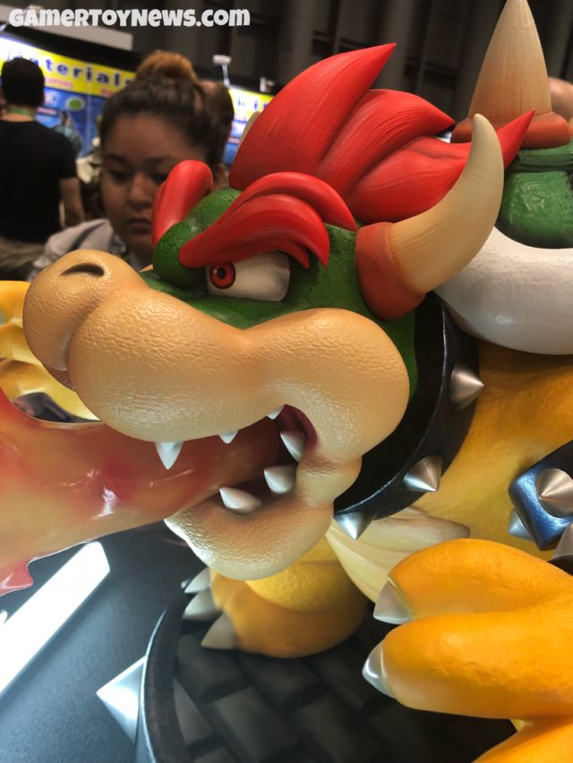 Close-Up of Bowser First4Figures Statue Head
