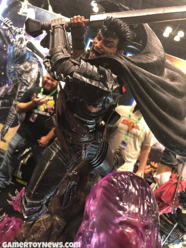 NYCC 2017 Berserk Guts Statue First4Figures
