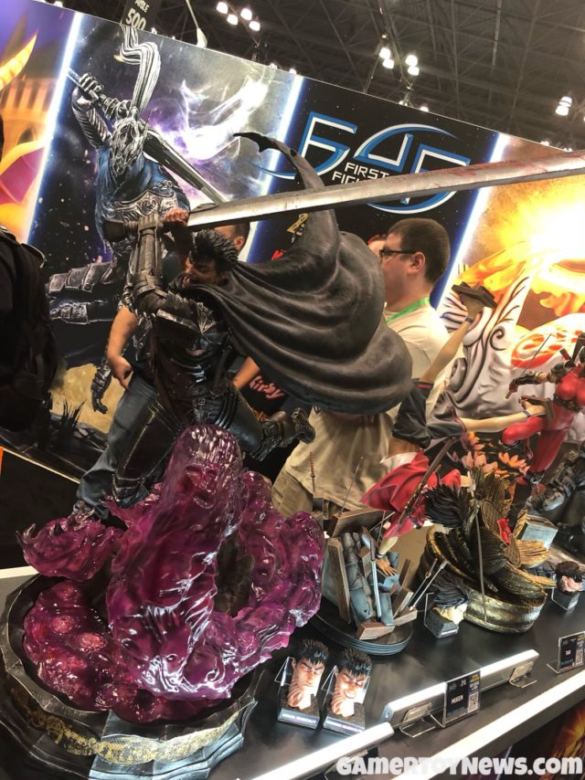 Guts Statue Berserk First 4 Figures 2017 NYCC