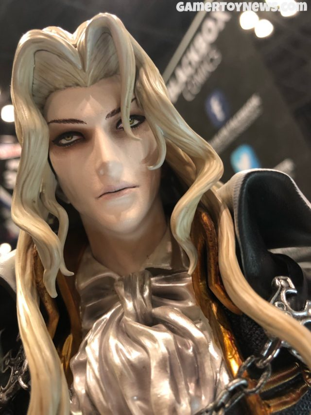 Close-Up of Head on Alucard First 4 Figures Statue