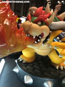 F4F Bowser Statue at NYCC 2017