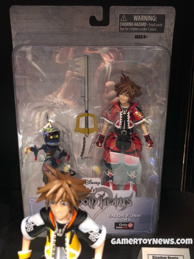 Packaged Valor Form Sora Select Gamestop Exclusive Figure