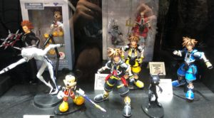 NYCC 2017 Kingdom Hearts Select Figures Display