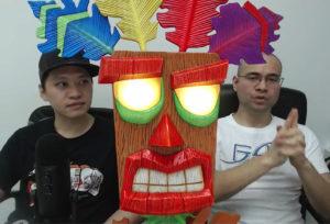 Aku Aku Mask Reveal F4F Statue