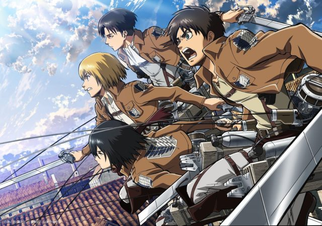 Attack on Titan Humans Group Shot