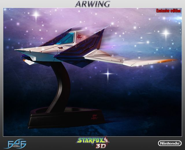F4F Arwing Exclusive Statue
