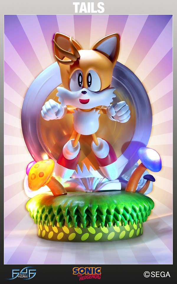F4F Classic Tails Exclusive Statue