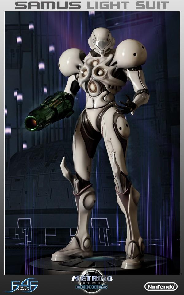 F4F Light Suit Samus Statue