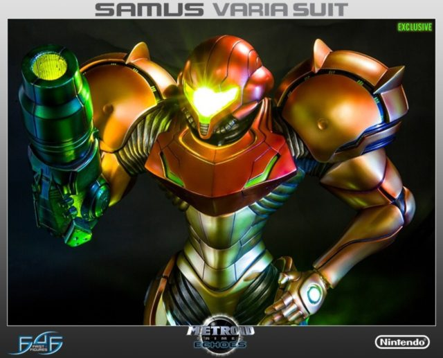 First4Figures Varia Suit Samus Exclusive Statue