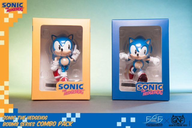 GNF Sonic the Hedgehog Boom8 Figures