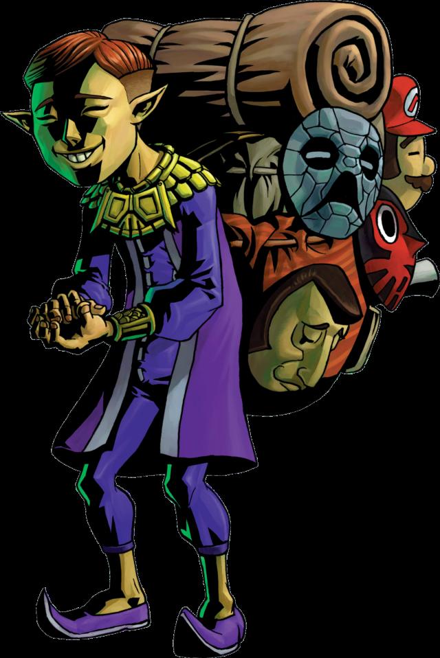 Legend of Zelda Happy Mask Salesman F4F Statue