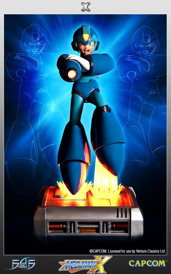 Mega Man X Statue First 4 Figures