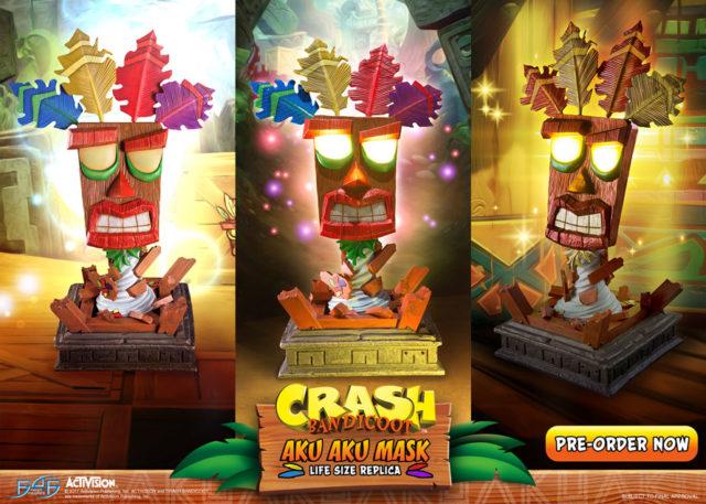 Order Aku Aku Masks First 4 Figures