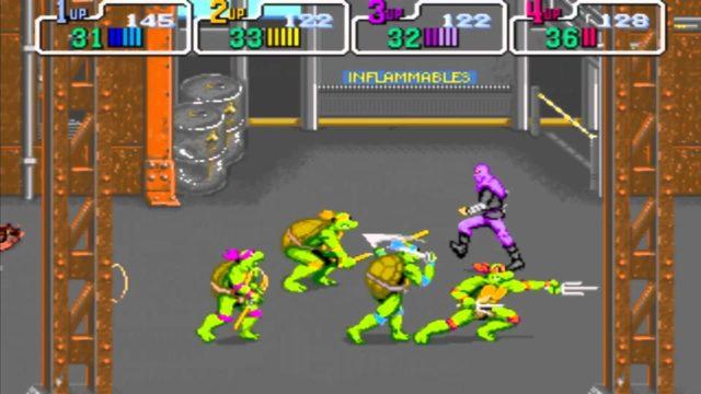 TMNT Arcade Game Screenshot