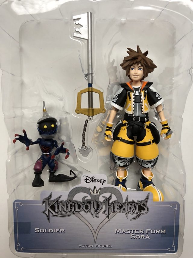 Master Form Sora Toys R Us Exclusive Figure with Keyblade and Soldier