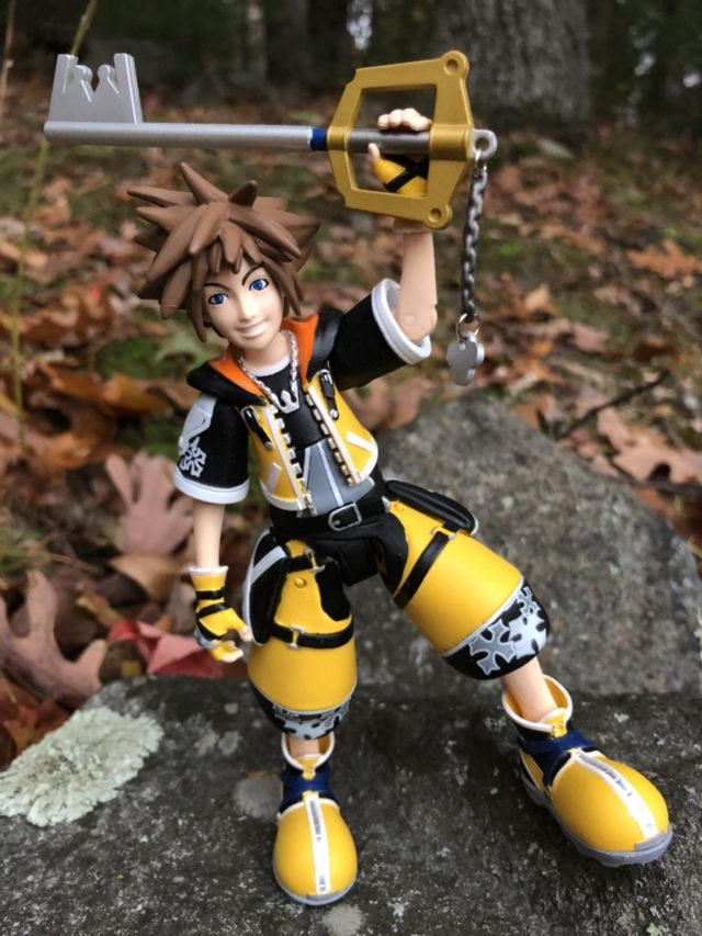 Yellow Sora Kingdom Hearts Select Action Figure with Keyblade