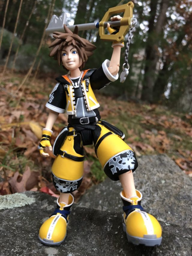 Kingdom Hearts Master Form Sora Figure Review Diamond Select Toys