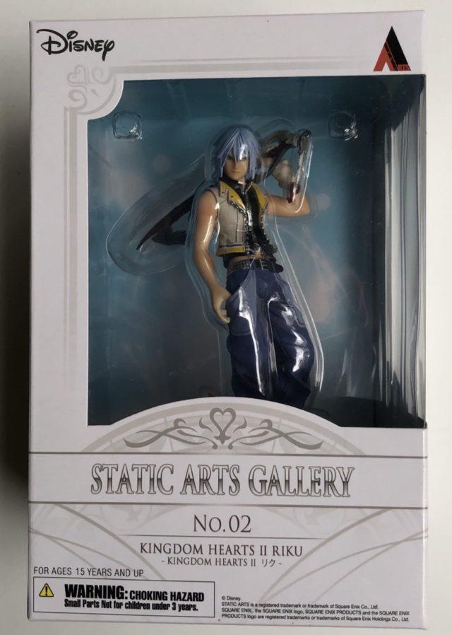 Kingdom Hearts Static Arts Riku Statue Box